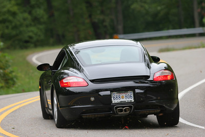 Stock 2007 Cayman S bodyroll