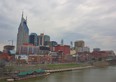 Downtown Nashville HDR - shot hand held, and Im proud of it!
