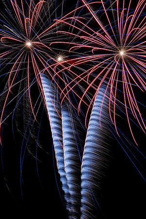 We love fireworks around the beach
